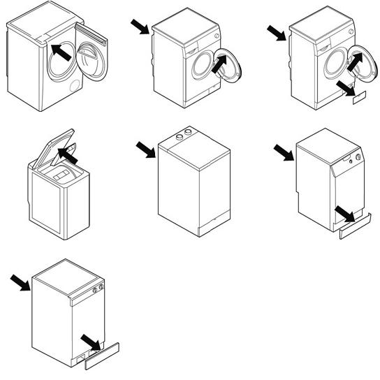 Mosógépek és mosó-szárítógépek